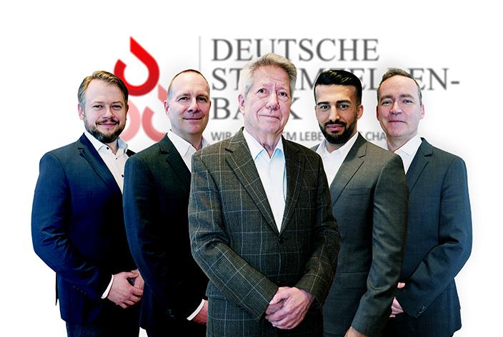 leitendes Team Deutsche Stammzellenbank